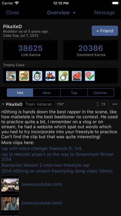 BaconReader for Reddit screenshot-3