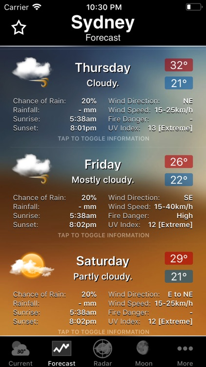 Australia Weather Information screenshot-4