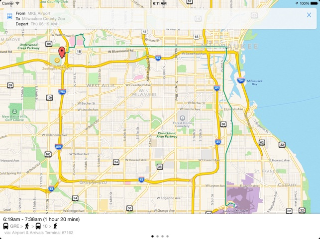 Transit Tracker Milwaukee on the App Store