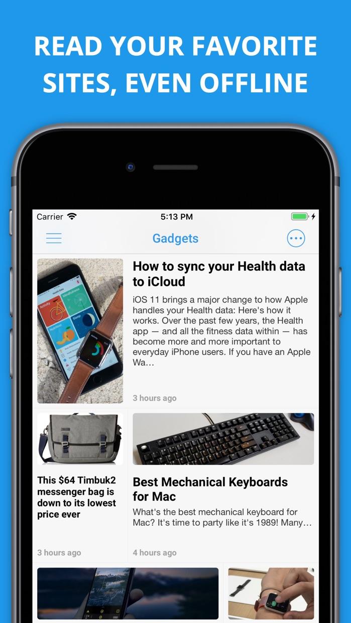Newsify RSS Reader Screenshot
