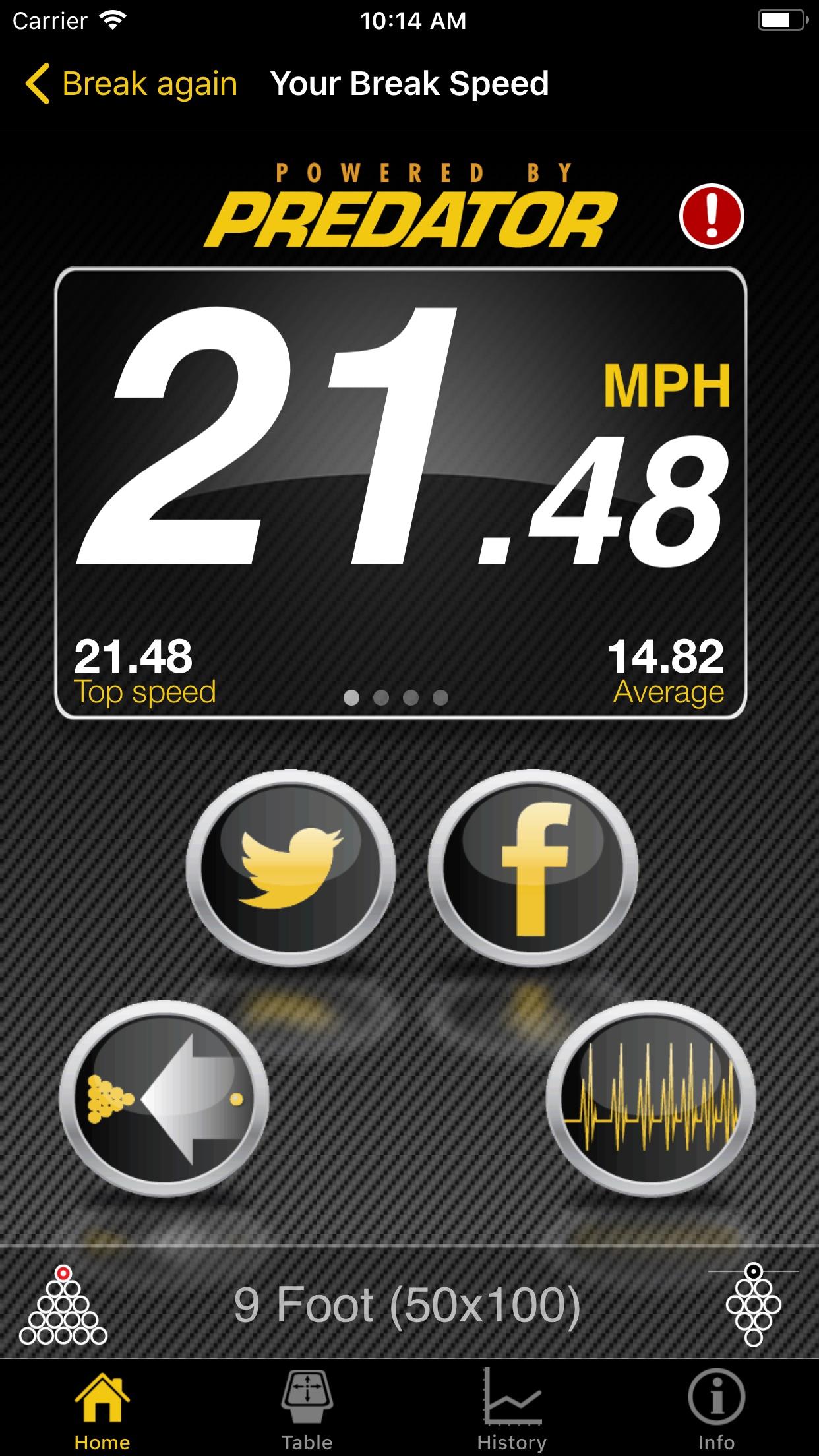 Break Speed Screenshot