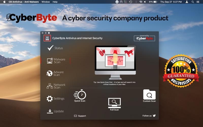 Antivirus CB - Virus  Adware Screenshot - 2