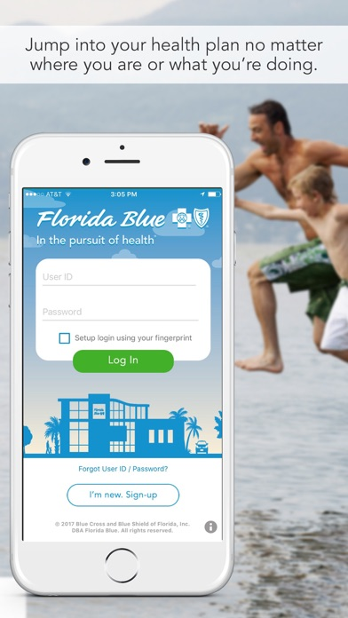Florida Blue review screenshots