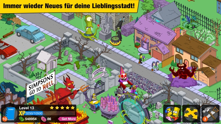 Die Simpsons™: Springfield screenshot-2