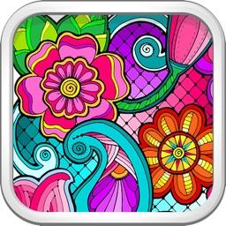 Coloring Book for Mandala
