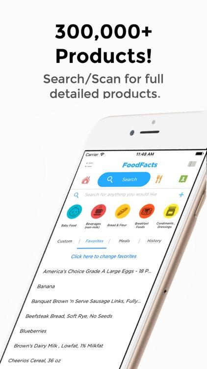 FoodFacts-Allergy, Weight Loss screenshot-4