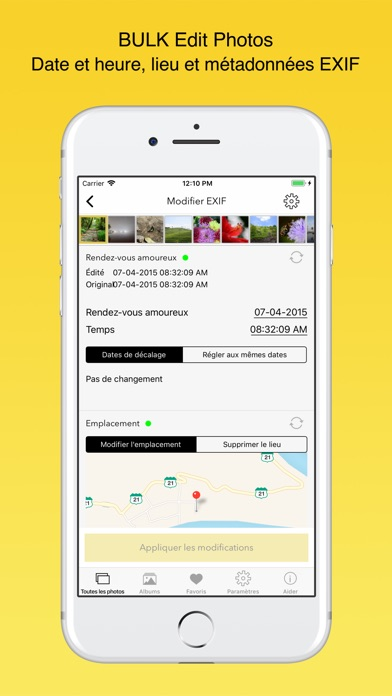 Screenshot #1 pour EXIF Viewer by Fluntro