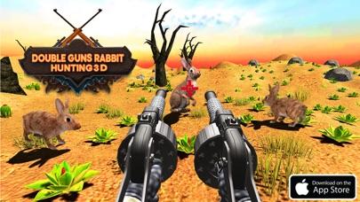 Double Guns Rabbit Hunting 3D