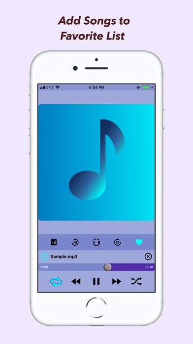 JS MP3 Player Screenshots