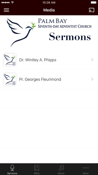 Palm Bay SDA Church App screenshot 1