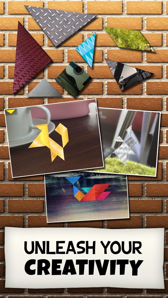 Kinder Tangram: Build a House Screenshot