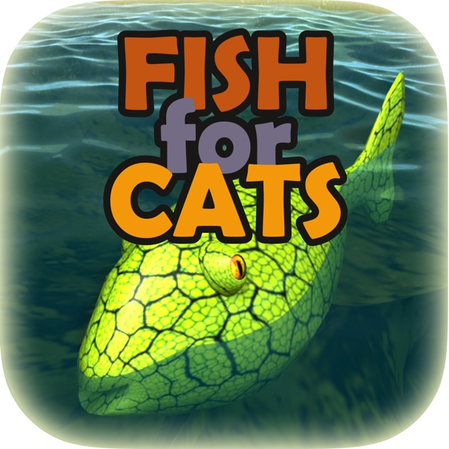 Fish for cats 3d fishing game for cats on the app store for Moving fish for cats