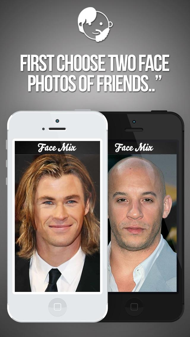 フェイスミックス:友達と顔をスイッチのおすすめ画像3