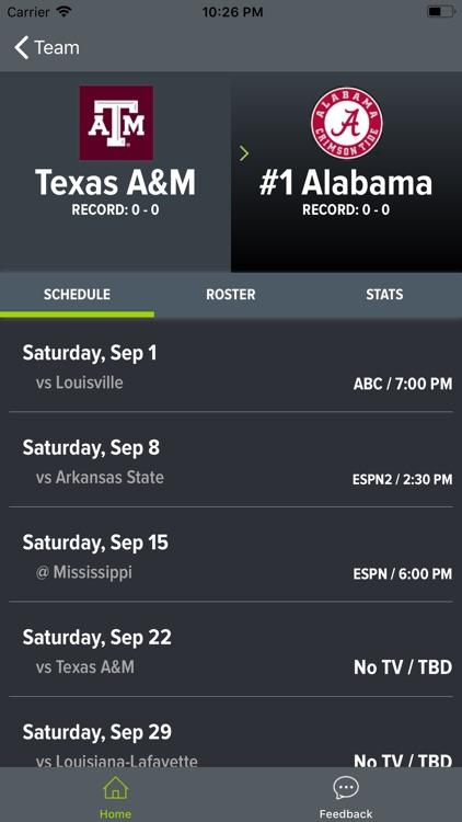 Texas A&M Football screenshot-4
