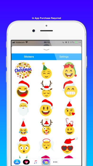 点击获取Christmas emoji & Santa Claus