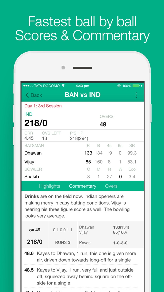 Cricbuzz Cricket Scores & News Screenshot