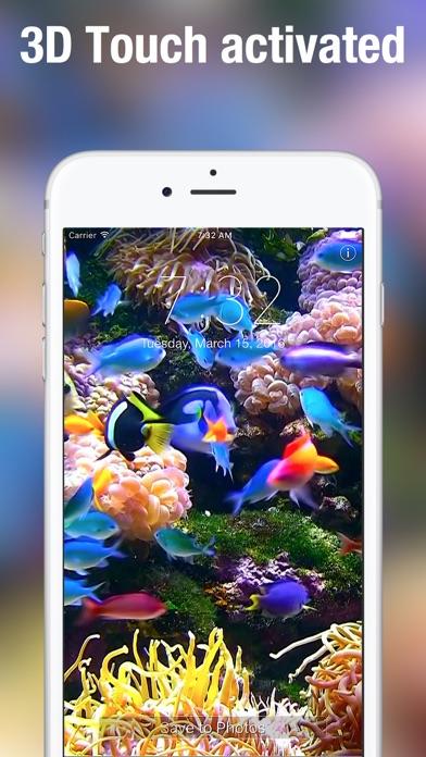 Screenshot #3 for Aquarium Dynamic Wallpapers