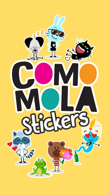 Comomola Stickers