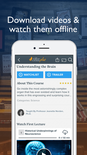 The Great Courses Plus on the App Store