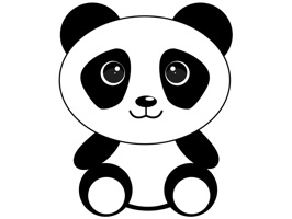 Enjoy free pandas to send to your friends and family