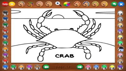 Coloring Book 3: Animals screenshot four