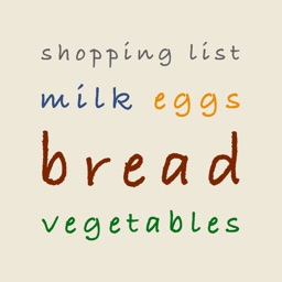 Shopping List - Grocery List