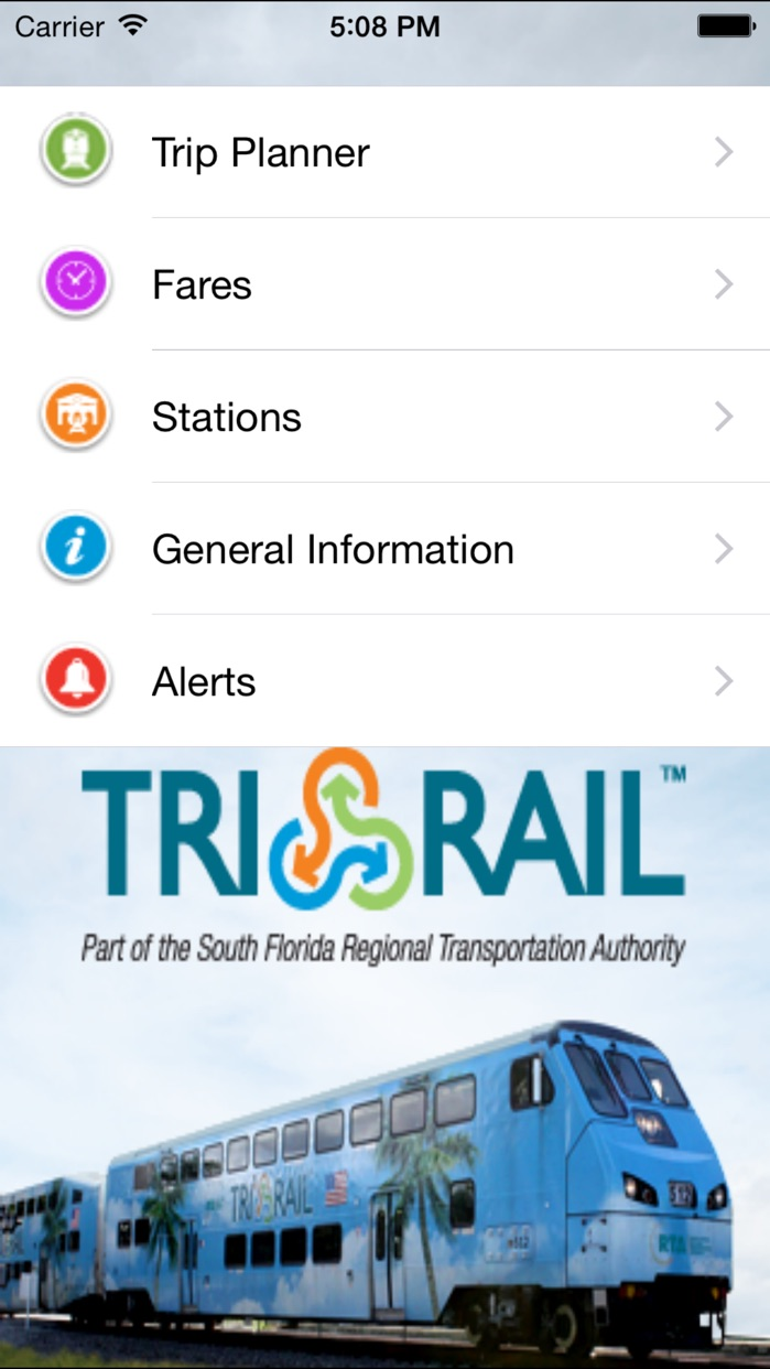 Tri-Rail Screenshot