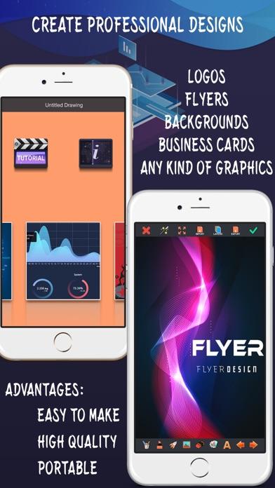 Create Flyers & Logos - Makerのスクリーンショット