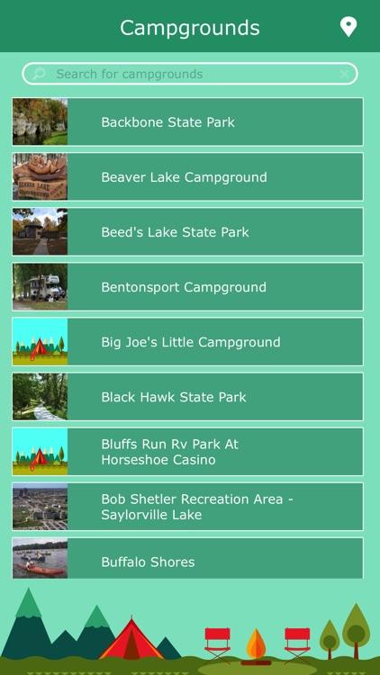 Iowa Camping Guide