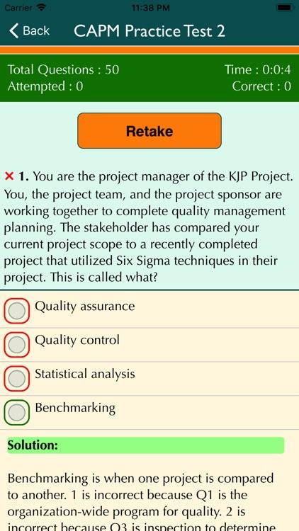 PMP & CAPM Practice Tests screenshot-3