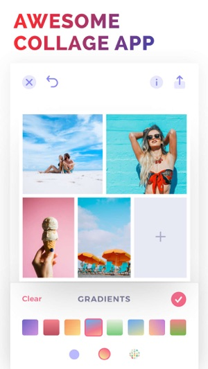 how to make a photo collage on ipad