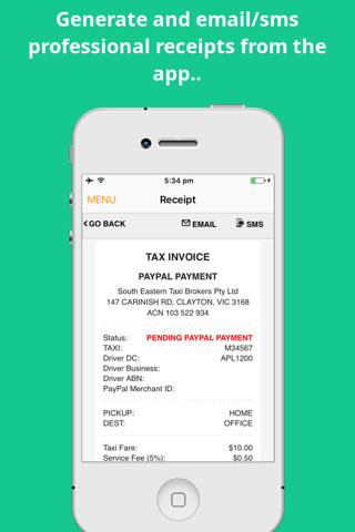 SE Taxi Driver App - náhled