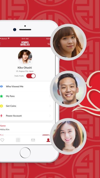 Asian Singles- Dating Chat App screenshot-4