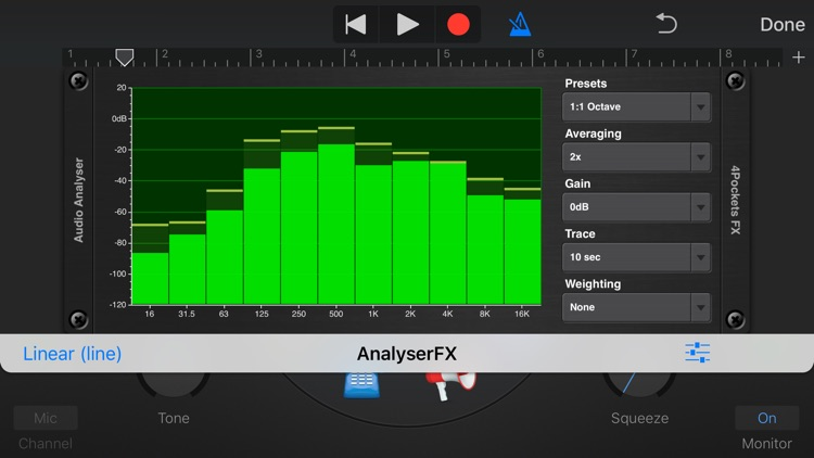 Analyser & Tuner AUv3 Plugin screenshot-3