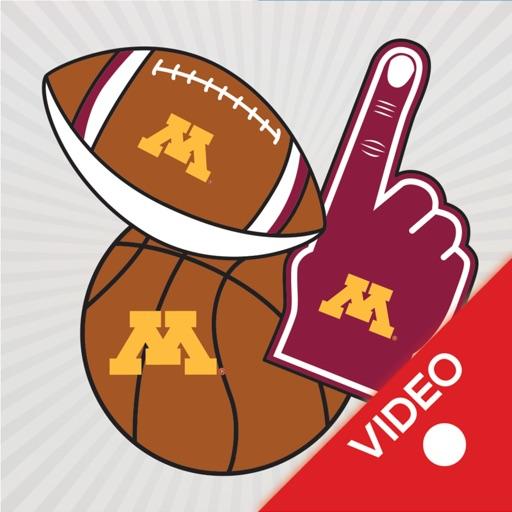 Minnesota Golden Gophers Animated Selfie Stickers