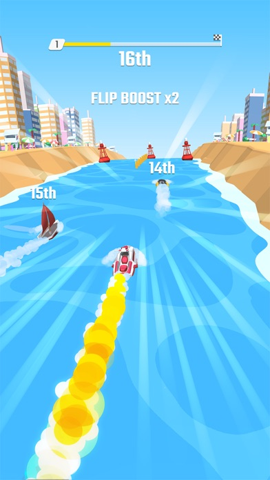 Screenshot for Flippy Race in United Kingdom App Store