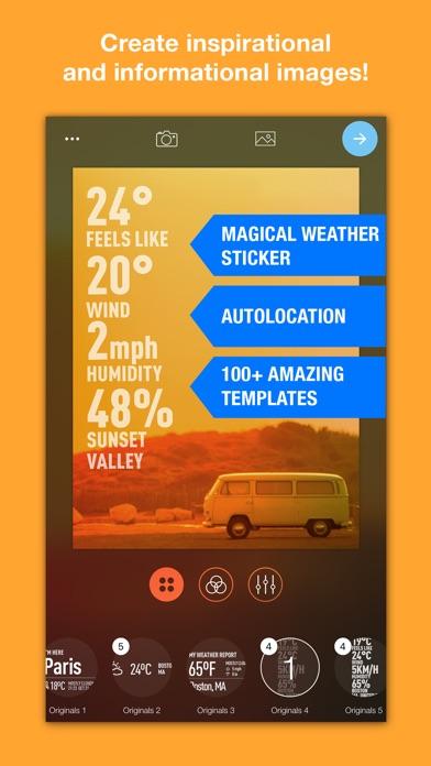 Weathershot™スクリーンショット