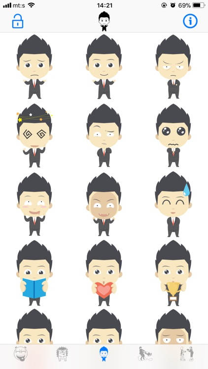 Animated Emojis & Stickers screenshot-3