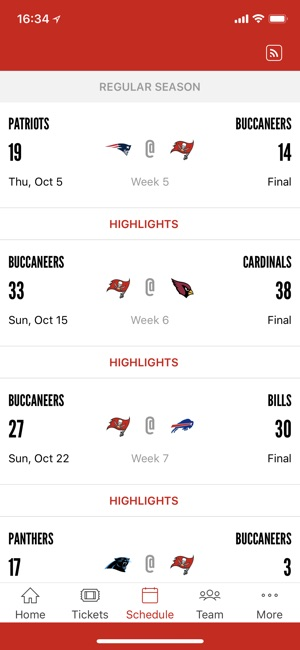 b88dabb4d3773  Tampa Bay Buccaneers Official on the App Store