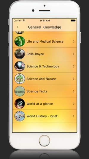 General Knowledge of-the World on the App Store