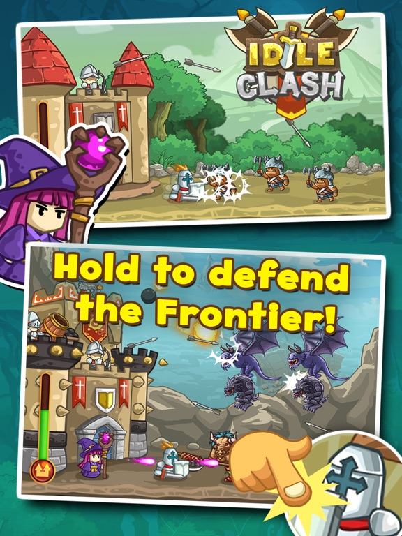 Screenshot #2 for Idle Clash - Frontier Defender