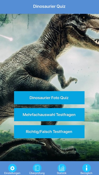 Die Dinosaurier Quiz screenshot 1