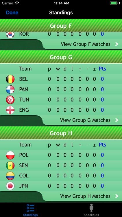 World Football Calendar 2018 screenshot-3