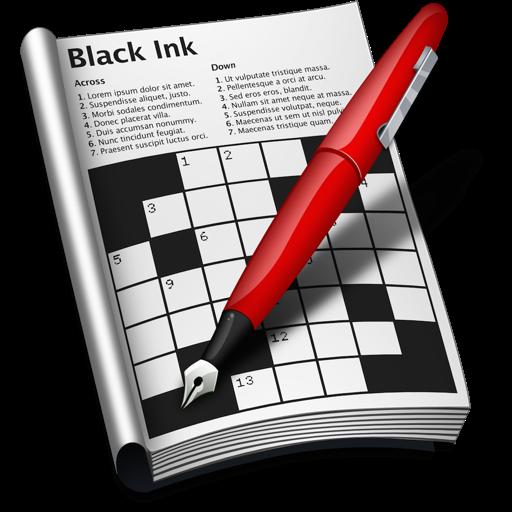 Black Ink - Crossword App