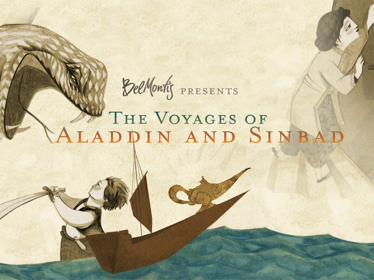 Aladdin & Sinbad - The voyages