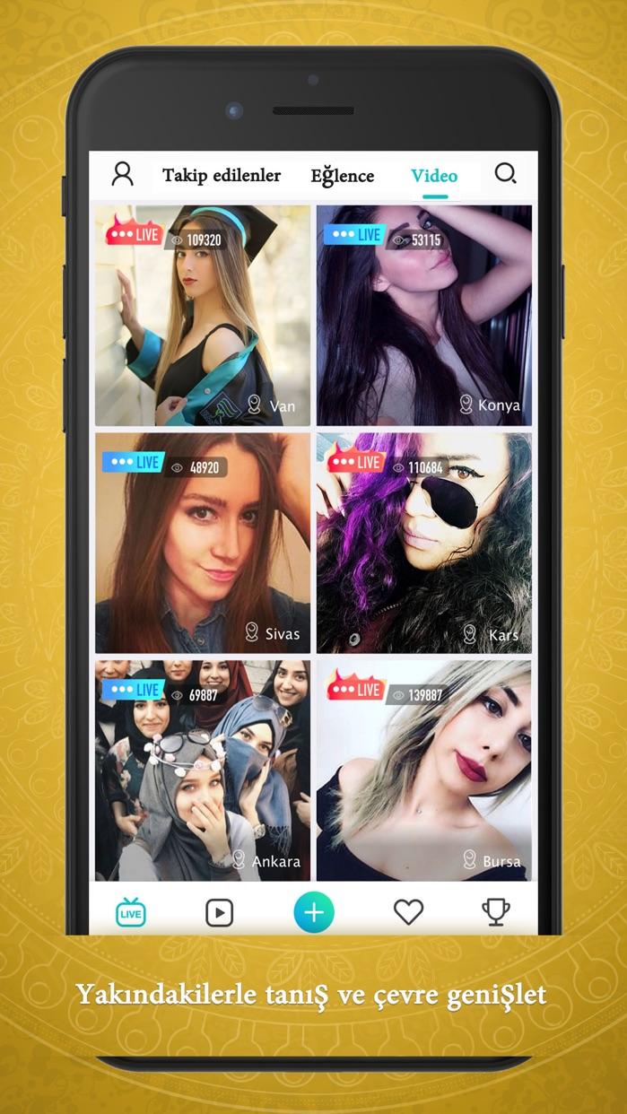 Haahi-Live Stream Video Chat Screenshot