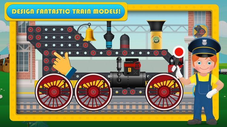 Train Simulator & Maker Games screenshot-3