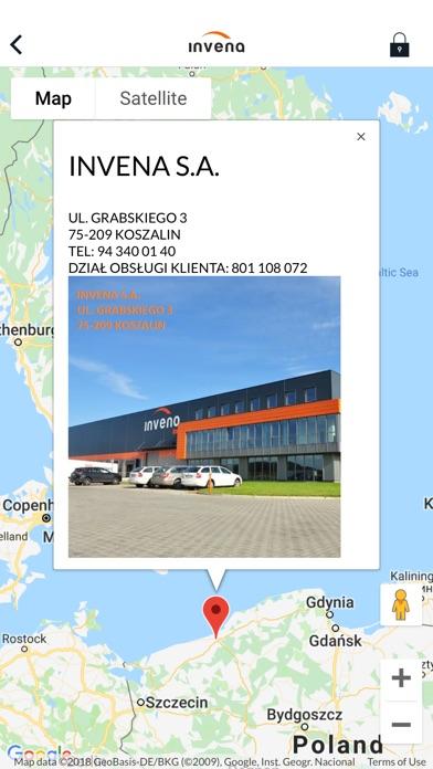 Screenshot of INVENA Instalatorzy App
