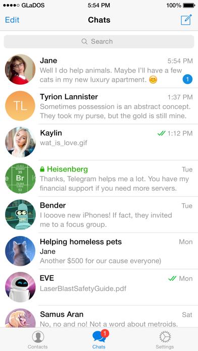 Telegram Messenger Screenshot 2