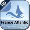 France Atlantic gps Nautical offline fishing chart